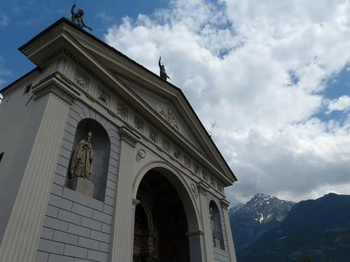 Cathedral in Aosta