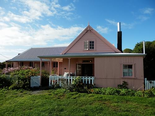 Fyffe House (original whaler's cottage), Kaikoura, NZ