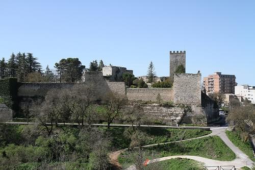 Lombardy Castle, Enna