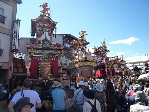 Festival Floats Exhibition Hall, Takayama