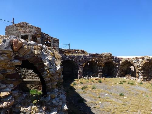 Castle of Chios ruins - P1340805