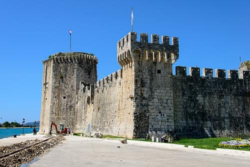 Castle in Trogir, Croatia