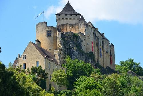Le château médiéval de Castelnaud