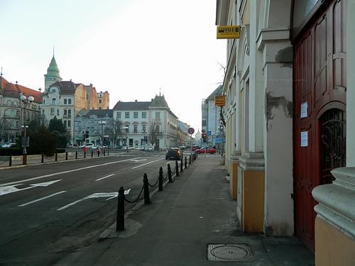 Unirii Square, Oradea / Nagyvárad, Romania