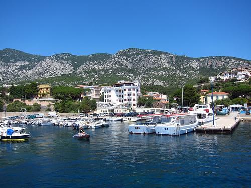 Cala Gonone's Port