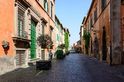 Street in Tuscania