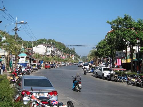 Street views of Ao Nang