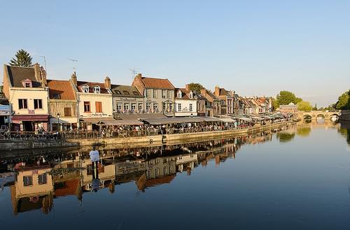 Quaie Belu ( la Somme) Amiens