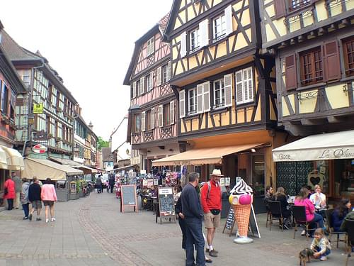 Obernai on the Alsace wine route