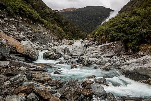 Gates of Haast Waterfall