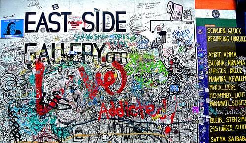 The East Side Gallery @ Berlin