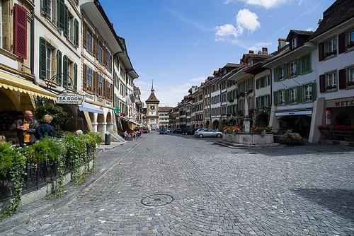Historic Center, Murten