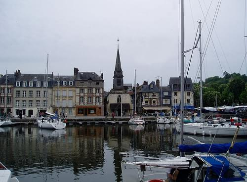 St. Catherine's Church Tower, Honfleur