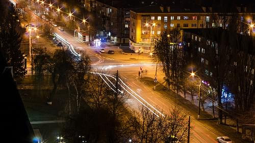 Night in Vinnytsia