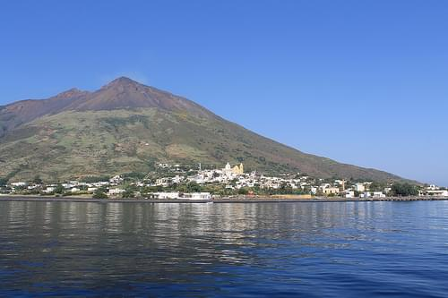South East of the Stromboli Island
