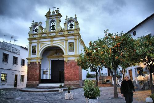 iglesia de zahara de la sierra