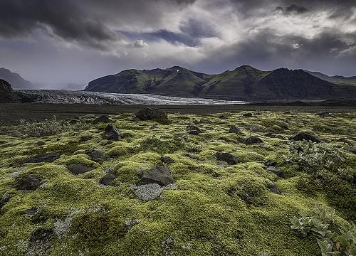 '2 Days to Go' - Svinasfelljökull, Skaftafell National Park, Iceland