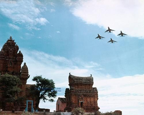 F-100 Super Sabres - Phanrang 1965-72 (Tháp Chàm Poklong Garai, Bác Ái, Đô Vinh, Phan Rang - Tháp Chàm, Ninh Thuận)