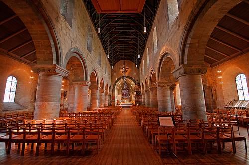 Stavanger Cathedral - Interior 1
