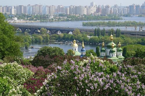 Kiev.  Vydubychi Monastery.  Видубицький монастир.
