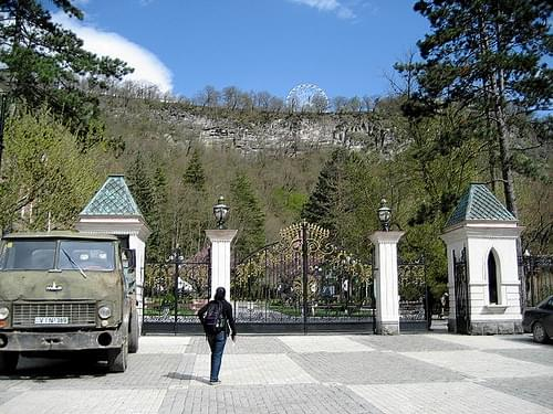 Borjomi - On the way to Mineral Spring Park 5