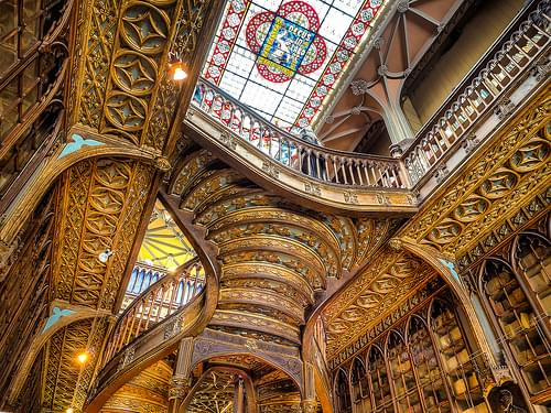 Lello Bookstore, Porto