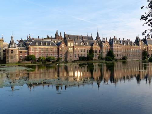 Binnenhof, The Hague, Early Evening