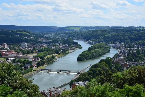 La Meuse vers Dinant