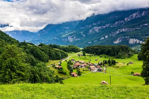 Interlaken, Switzerland, Europe
