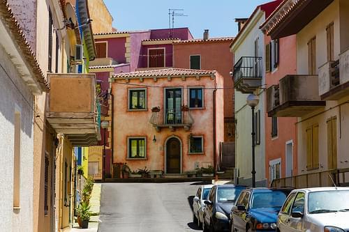 typische Häuser in Santa Teresa