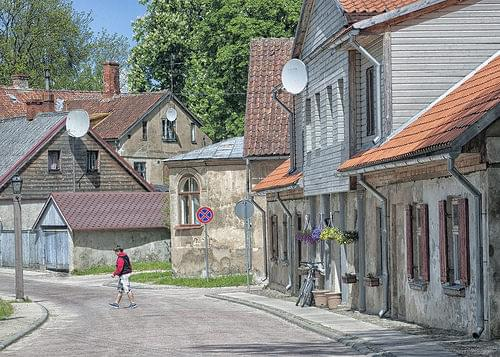 Kuldiga Street in Afternoon