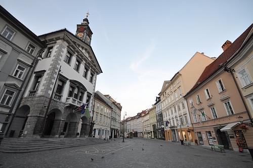 Ljubljana Town Hall (Ljubljanska mestna hiša)