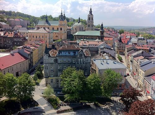 Przemysl Center view