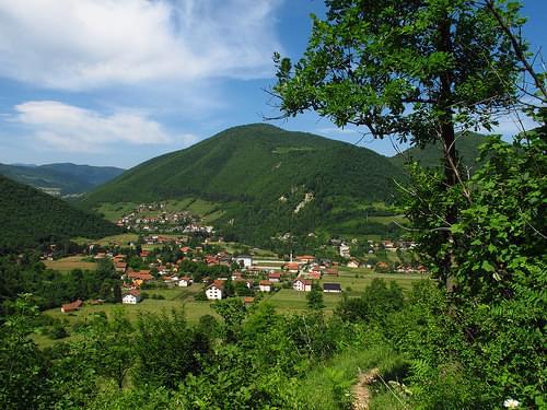 Visoko landscape