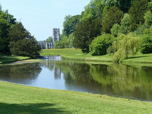 Studley Royal Water Garden and Fountains Abbey