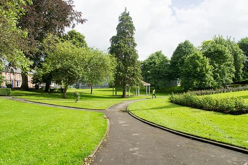 PEOPLE'S PARK IN LIMERICK CITY