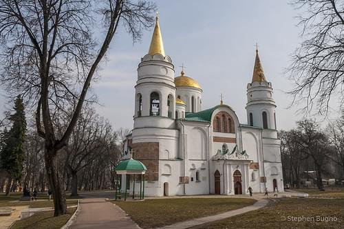 The Saviour Cathedral, Chernihiv