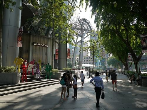 Orchard Road Singapore near ION