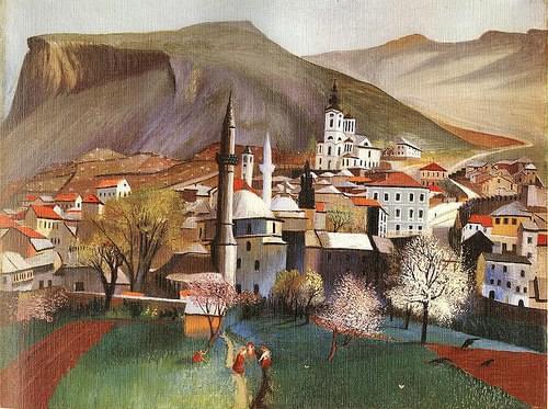 Tivadar Csontváry Kosztka - Springtime in Mostar