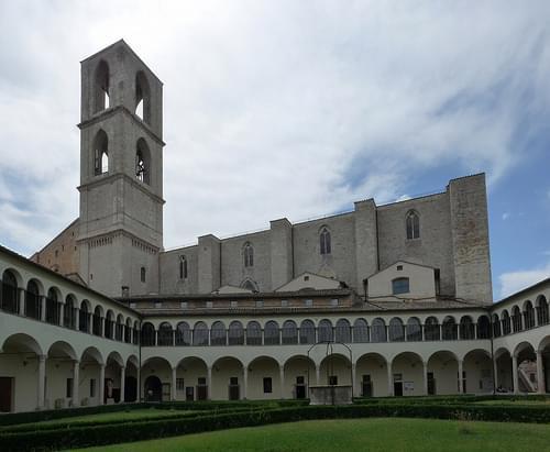 Basilica di San Domenico, Cloister 5, Perugia