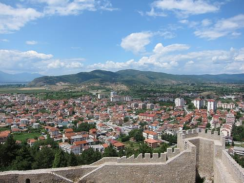 Ohrid Town (as seen from Car Samoil's Castle)