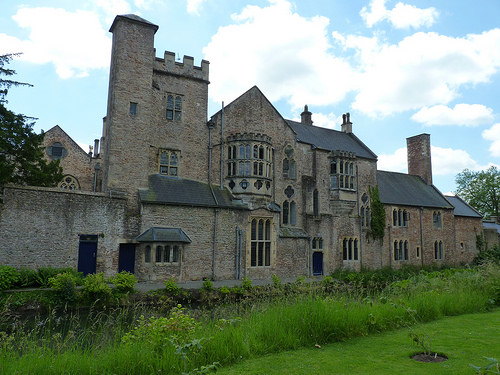 Wells - Bishop's Palace, gardens (4)