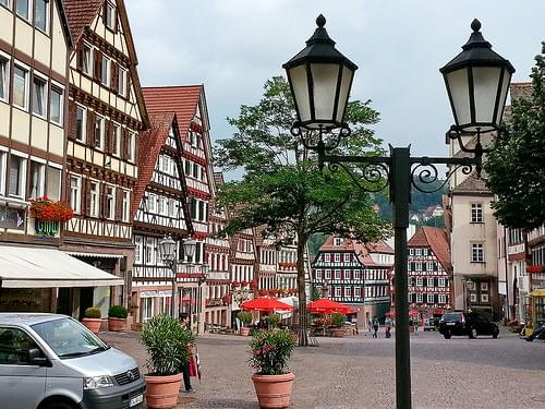 Historic Center, Calw