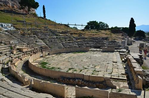 Theater of Dionysos, southern slope of the Acropolis, 342-326 BCE (17)