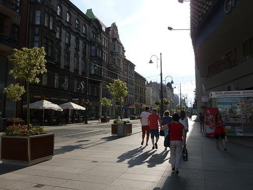 Katowice city centre