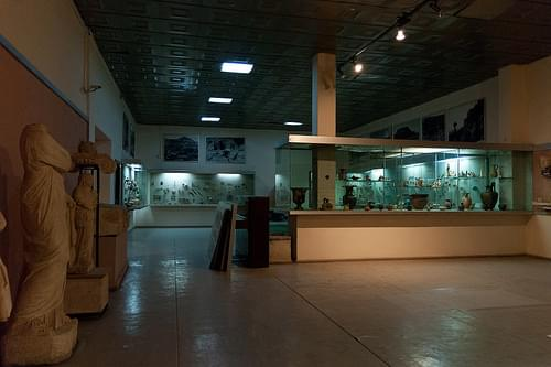 Archeological museum in Tirana