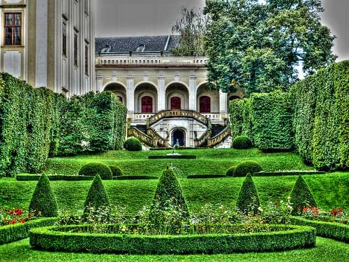 Kroměříž Castle and gardens, The Czech Republic