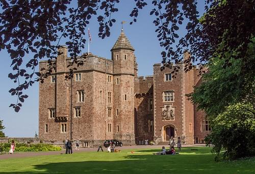 Dunster Castle in Somerset