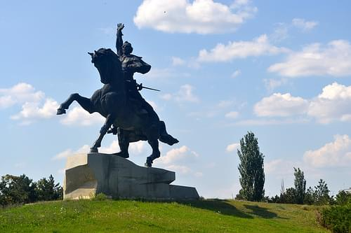 Monument to Suvorov, Tiraspol