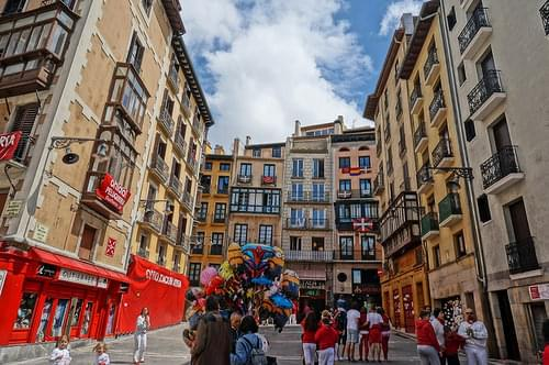 Old Town, Pamplona